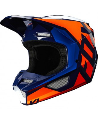 Шлем Fox Racing V1 Prix Lovl SE Orange/Blue
